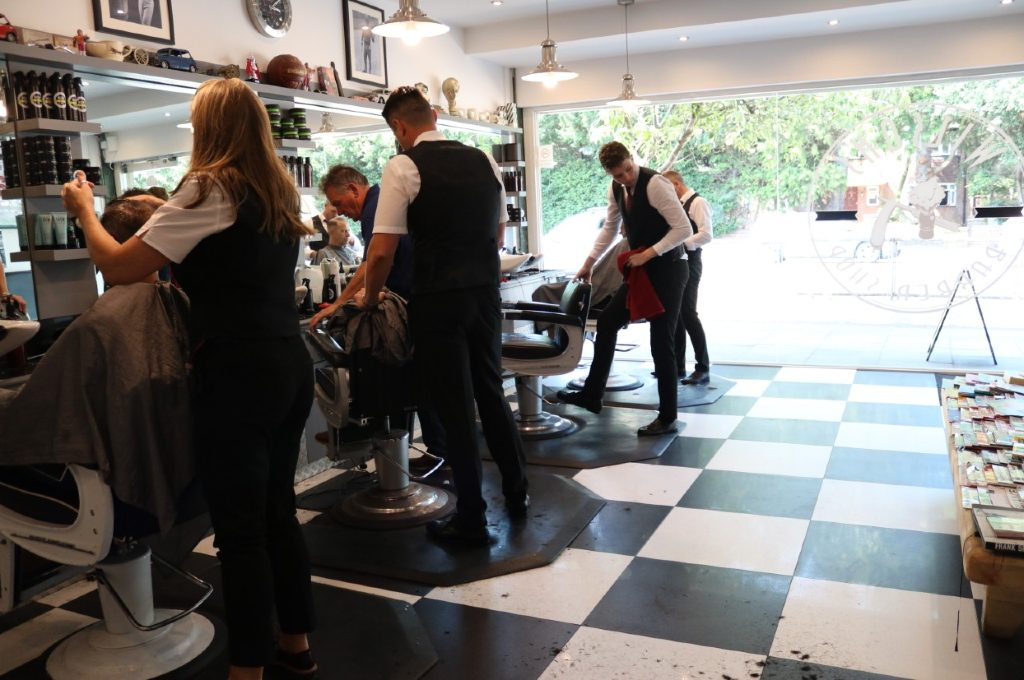 Barbers at Wilsons in Romford