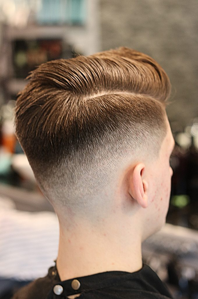 Gents hairstyling