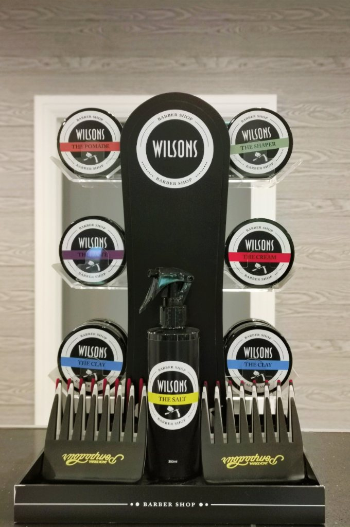 Wilsons styling products