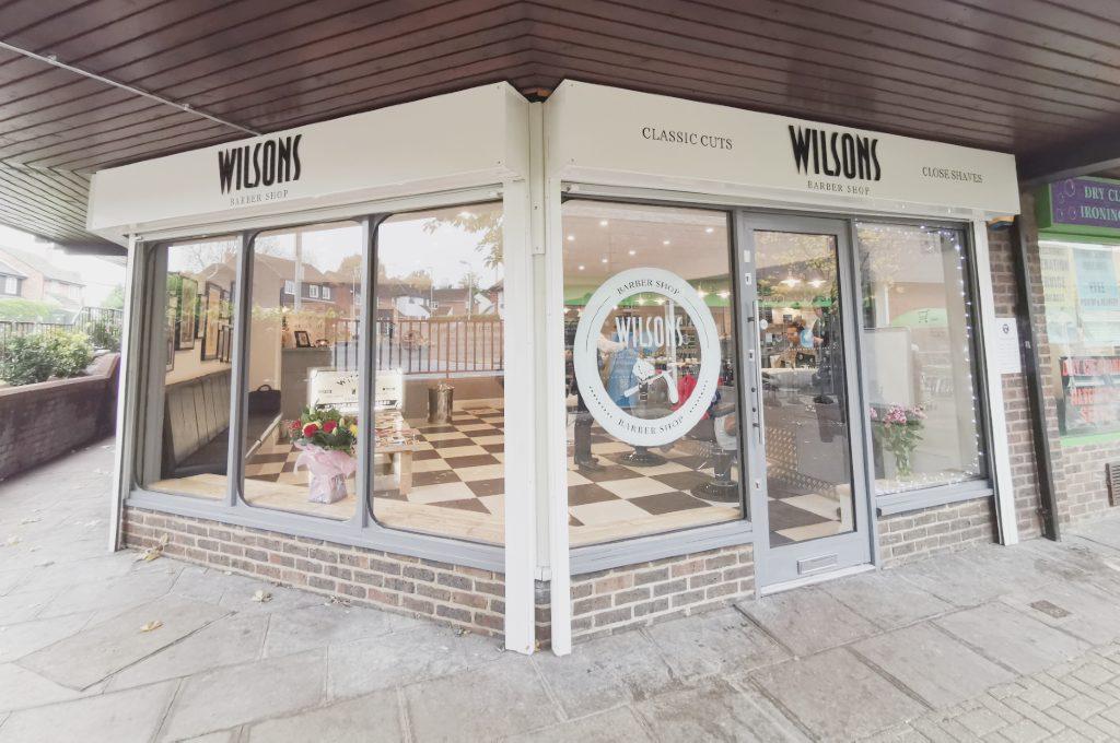 Wilsons Barber Shop Billericay exterior